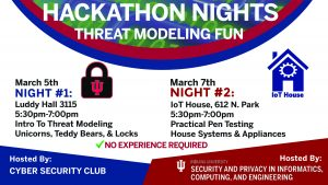 Students Experience Spring Hackathon Nights at Luddy Hall & IU's IoT House